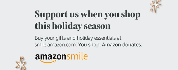 Support NCMC by shopping on Amazon Smile this holiday season