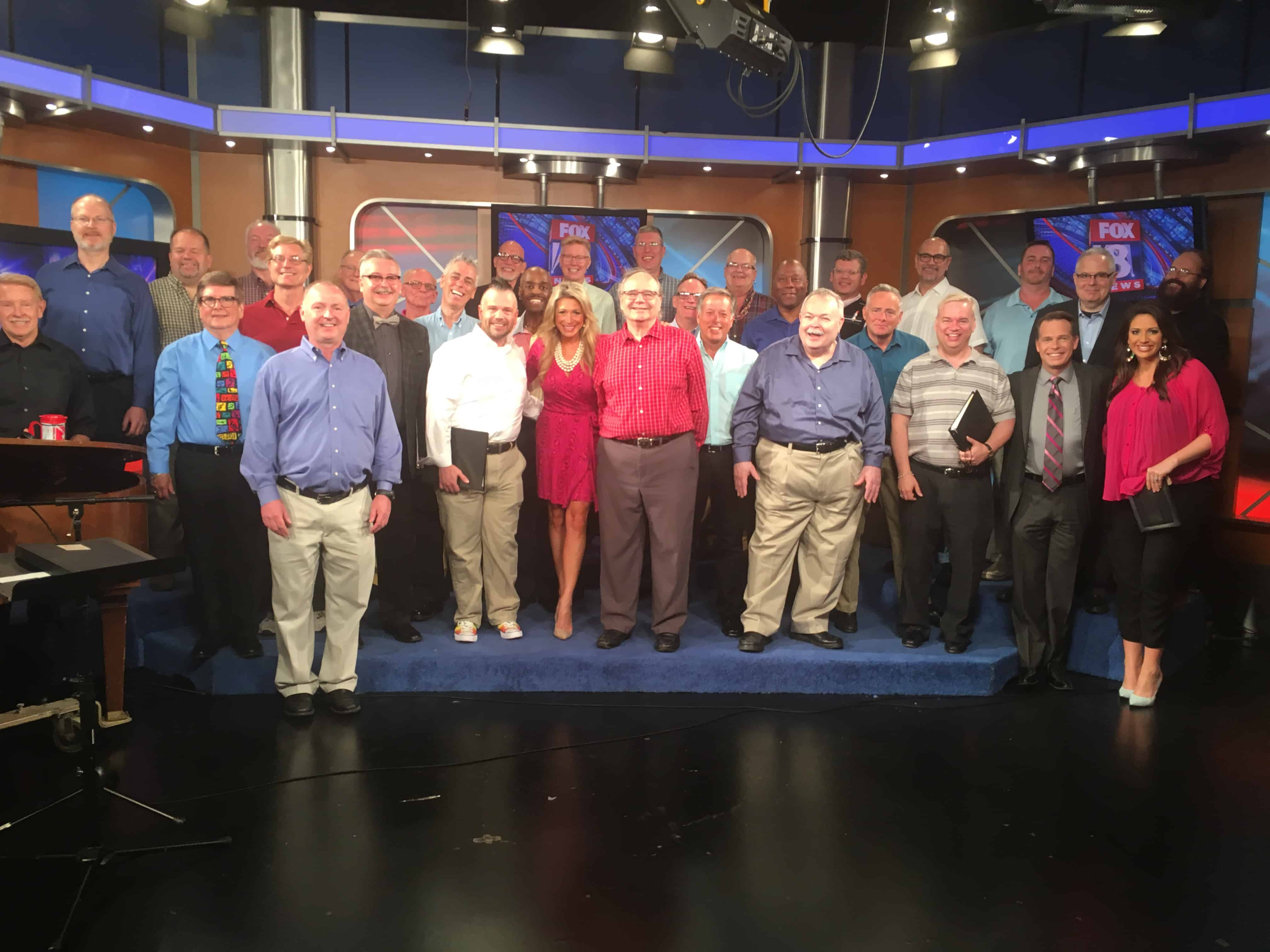 NCMC Performs on Fox 8 News in the Morning – North Coast