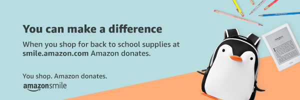 Shop Amazon Smile for Back to School and suport NCMC