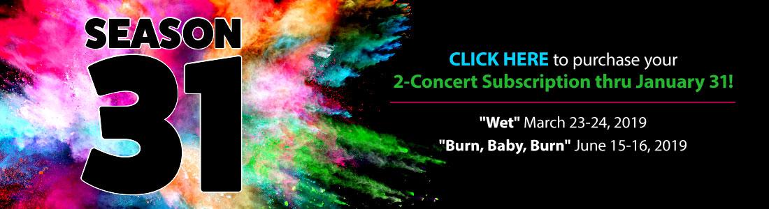NCMC Season 31 2-Concert Subscriptions