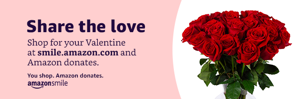 Shop Amazon Smile for Valentines Day to support NCMC!